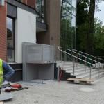 MCZ LEGNICA - Dostawa i montaż platformy