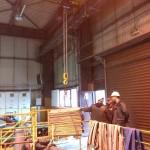 HUTA MIEDZI CEDYNIA - Dostawa i montaż wciągnika