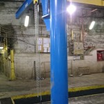 Zamontowany żuraw 1-tonowy