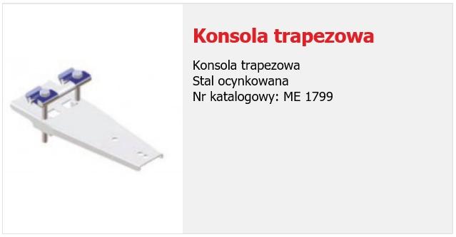 Konsola trapezowa
